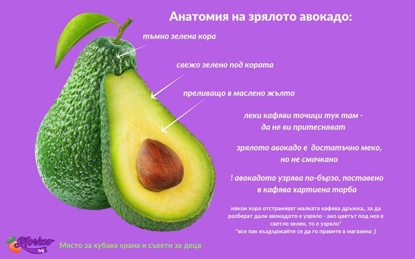 Авокадо за бебета