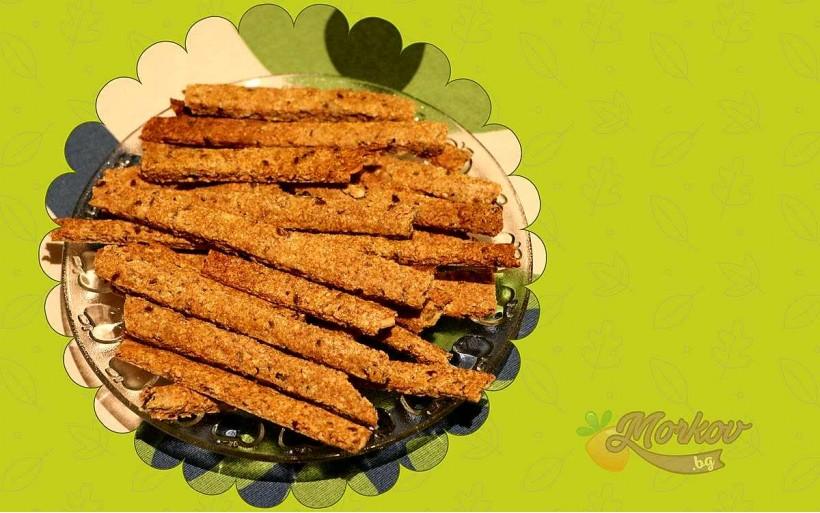 Чудни Здравословни Крекери – Гризини