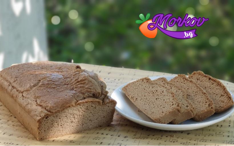 Вкусен таханов хляб без брашно и мая
