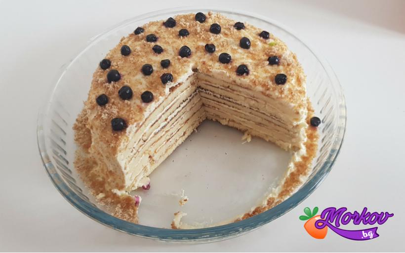 Безглутенова Торта с Маскарпоне - Без захар
