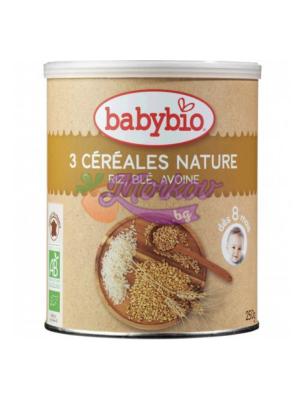 Био каша - 3 зърна BabyBio