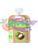 Био Кокосов йогурт с Киви и Банани Babybio - веган