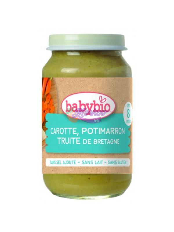 Био Рибно меню с Пъстърва и Зеленчуци Babybio