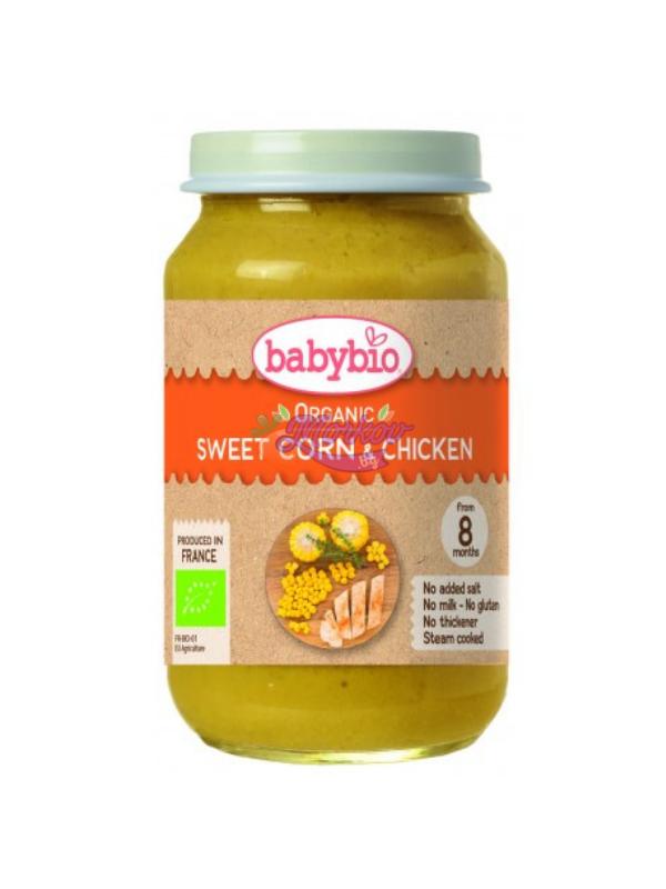 Био Зеленчуково меню с Пиле Babybio