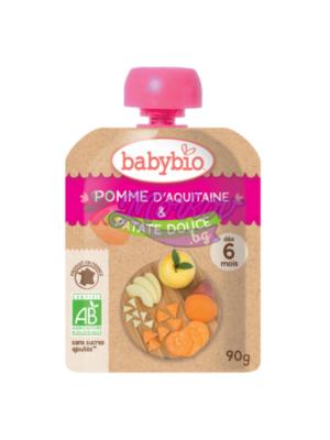 Био Ябълка и Сладък картоф Babybio
