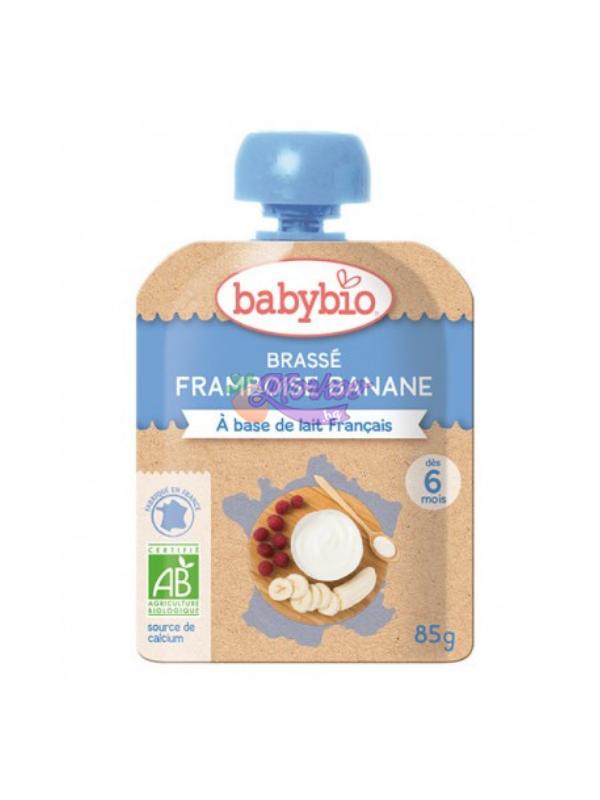 Био Йогурт с Малина и Банан Babybio