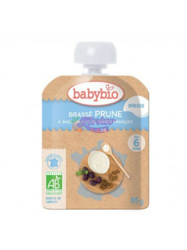Био Йогурт от Овче мляко със Сливи Babybio