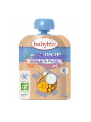 Био Йогурт с Манго Babybio