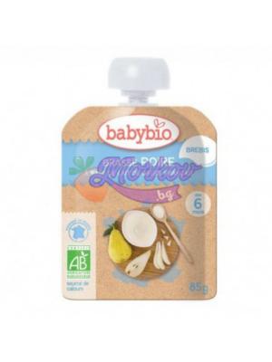 Био Йогурт от Овче мляко с Круши Babybio