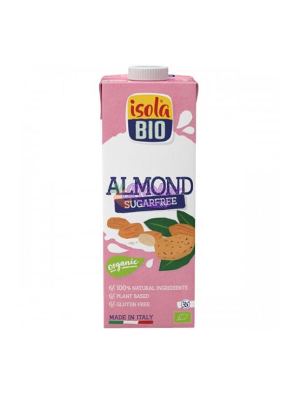 Био бадемово мляко без захар Isola Bio