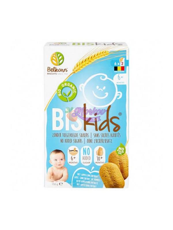 Био Бебешки Пълнозърнести Бисквити с Ябълка Belkorn