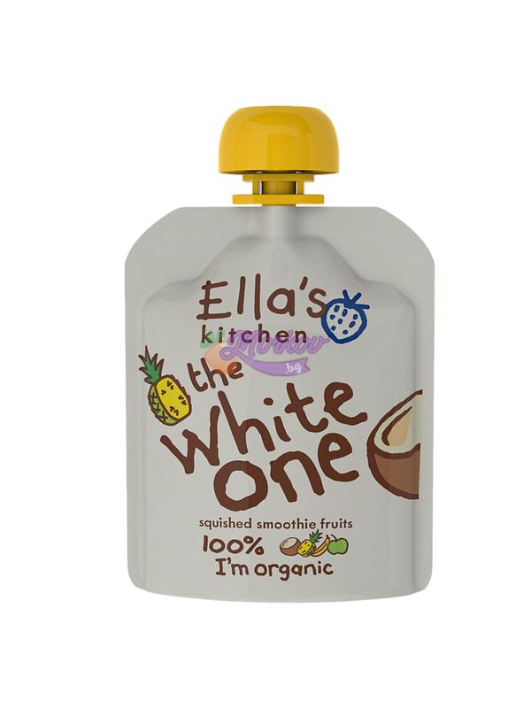 Био Бялото плодово смути Ellas kitchen