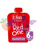 Био Червеното плодово смути Ellas kitchen