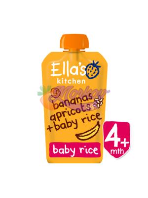 Био Оризова закуска с Банан и Кайсия Ellas kitchen