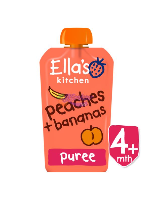 Био Праскови и Банани Ellas kitchen