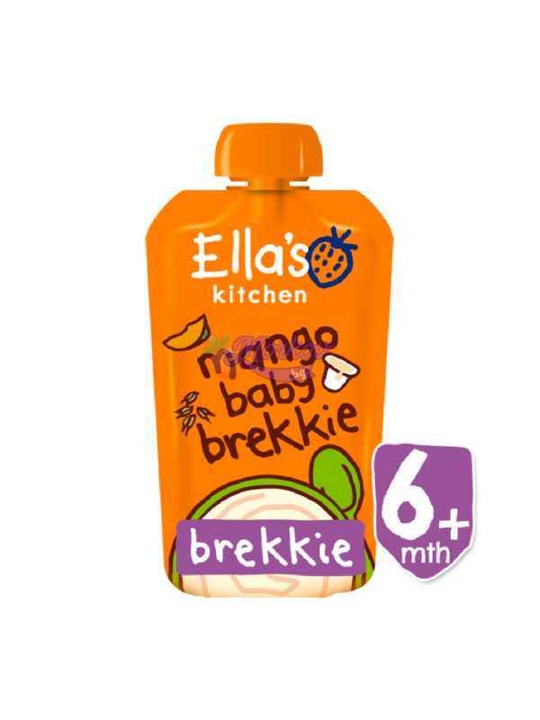 Био Закуска с Манго и Йогурт Ellas kitchen