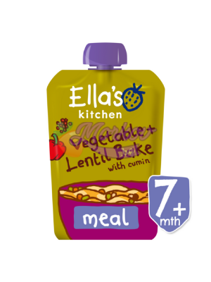 Био Зеленчуци с Батат и Червена леща на фурна Ellas kitchen