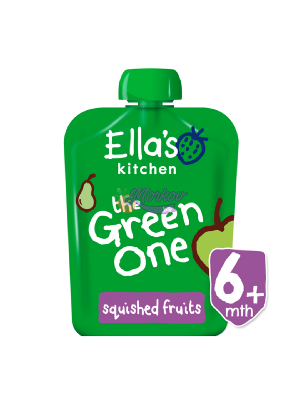 Био Зеленото плодово смути Ellas kitchen