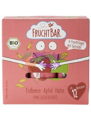 Био мюсли барове с Ягода и Ябълка Fruchtbar