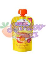 """Био Манго, Ябълка, Портокал и Спелта - плодова закуска """"Добро утро"""" Fruchtbar"""