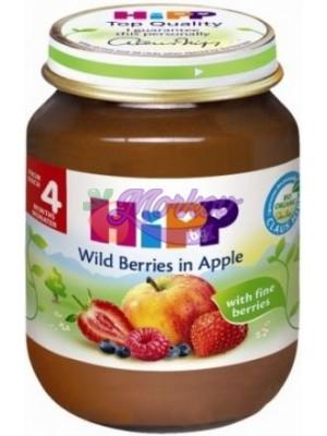 Био Пюре горски плодове с ябълка Hipp