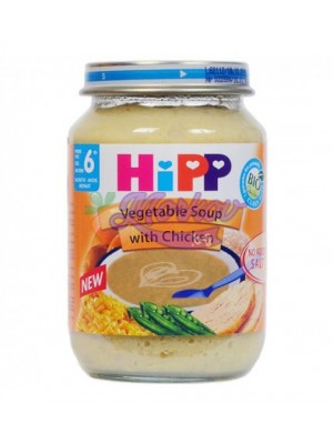 Био Зеленчукова супа с пиле Hipp