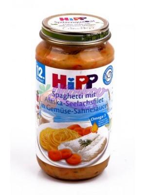 Рибно меню спагети с морска треска от Аляска в зеленчуци Hipp