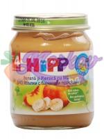 Био Пюре ябълки с банани и праскови Hipp
