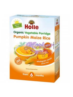 Био каша тиква, царевица, ориз Holle - без глутен