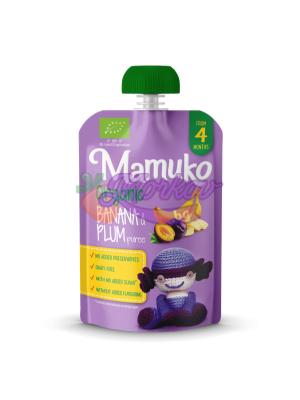 Био Банан и Слива Mamuko