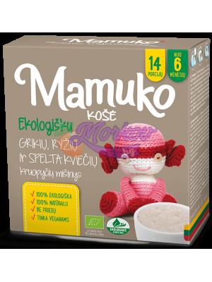 Био Eлда, Ориз и Спелта - каша за готвене Mamuko