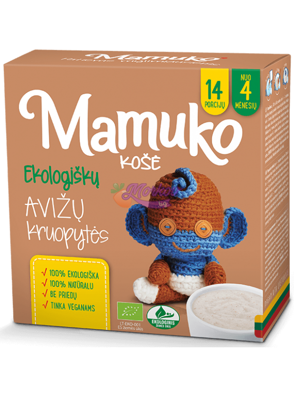 Био Овес - каша за готвене Mamuko