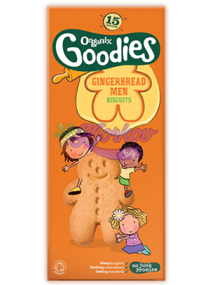 Био бисквити Човечета с джинджифил