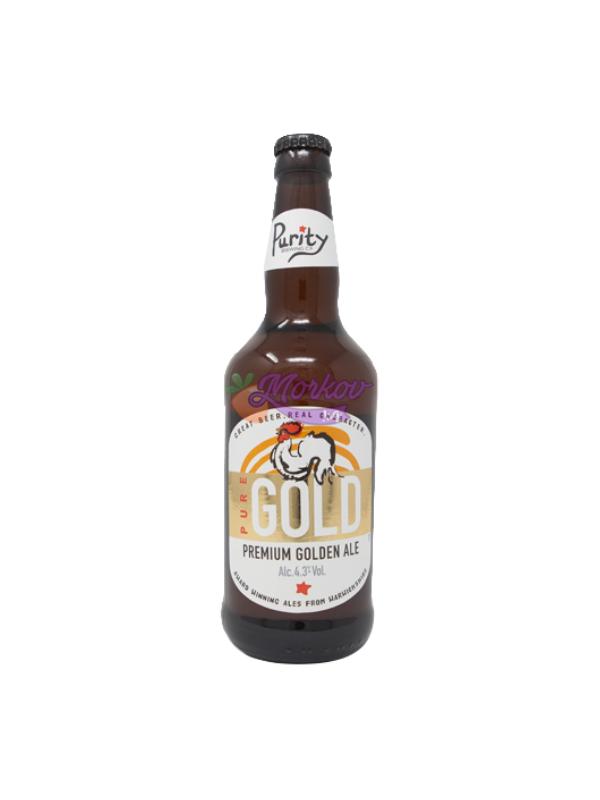 Английска крафт бира Purity Pure Gold 500ml