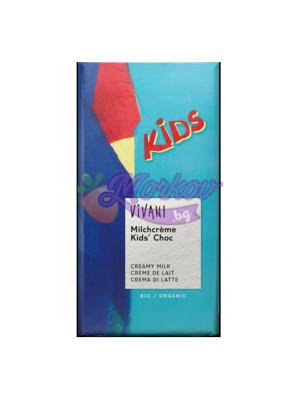 Био детски шоколад с млечен крем Vivani