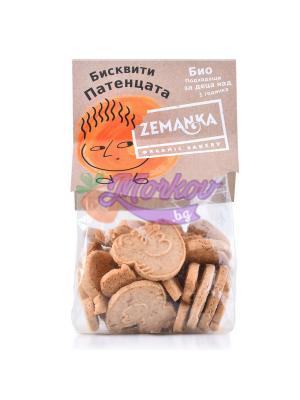 Био детски бисквити от Спелта с Ябълка - Патета