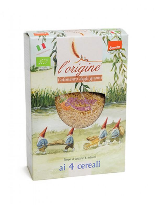 Храната на Гномчетата '4 зърна' - био паста