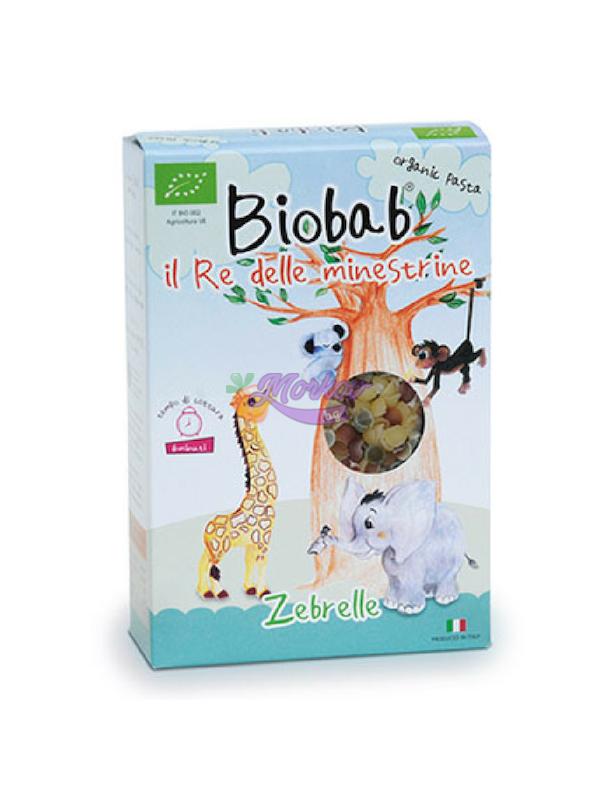 Цветни Мидички със Зеленчуци - детска био паста Biobab