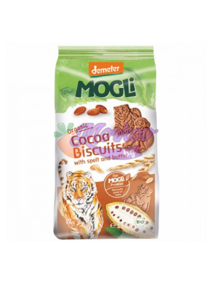 Био какаови бисквити със спелта и масло Mogli