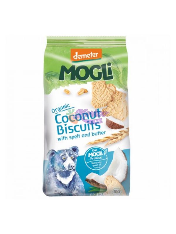 Био кокосови бисквити със спелта и масло Mogli